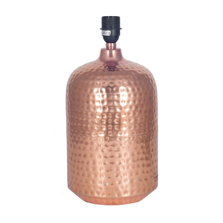 Mambo Table Lamp Base; Copper