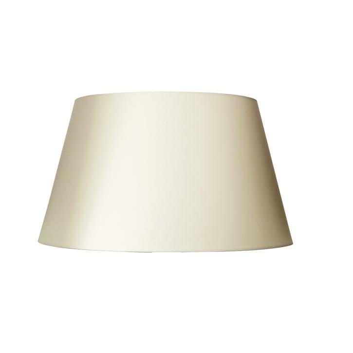 Drum Cotton Lamp Shade, Off White, 30cm