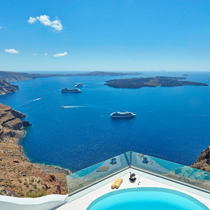 A voucher towards a stay at Chromata for two, Santorini, Greece