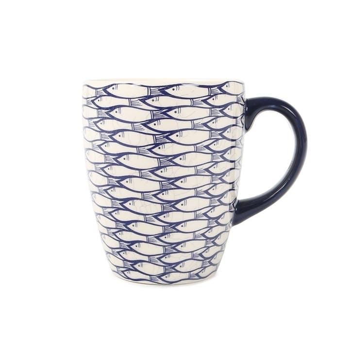 Sardine Run Mug, 300ml, Blue