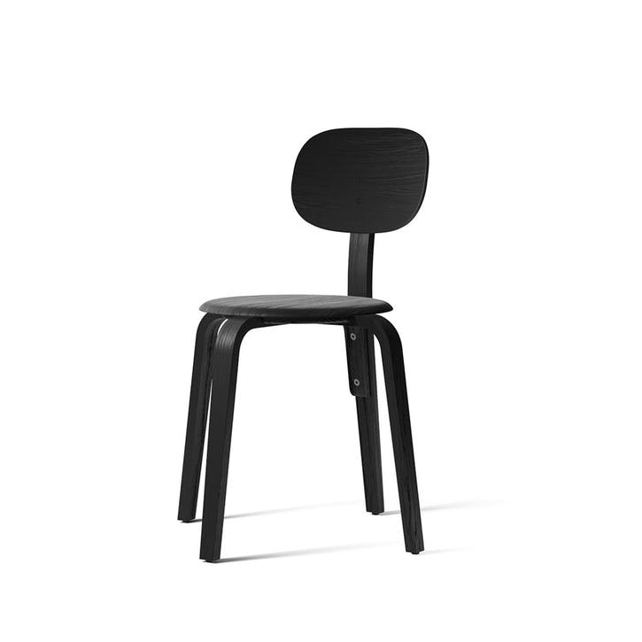 Afteroom, Dining Chair, H82 x W57 x D60cm, Black