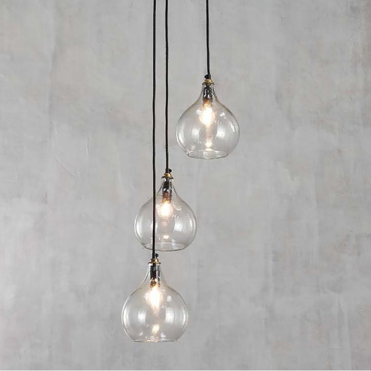 Ziva Cluster Pendant - Clear