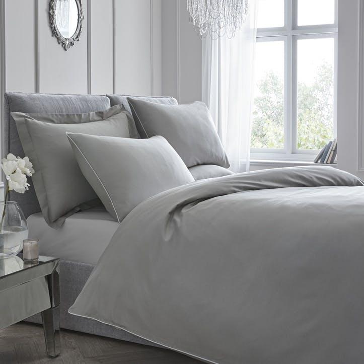 Pure Bedding Set, Super King, Slate