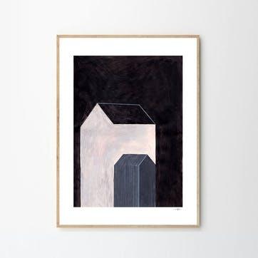 House No 01, Ana Frois Art Print