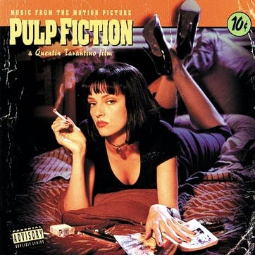 """Music From The Motion Picture Pulp Fiction 12"""" Vinyl"""