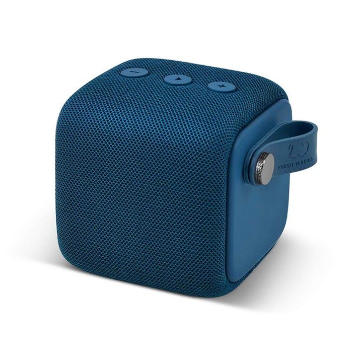 Bold Waterproof Bluetooth Speaker - Small; Indigo