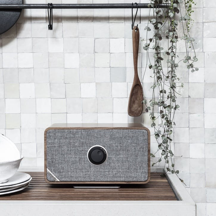 MRx Connected Wireless Speaker, Rich Walnut