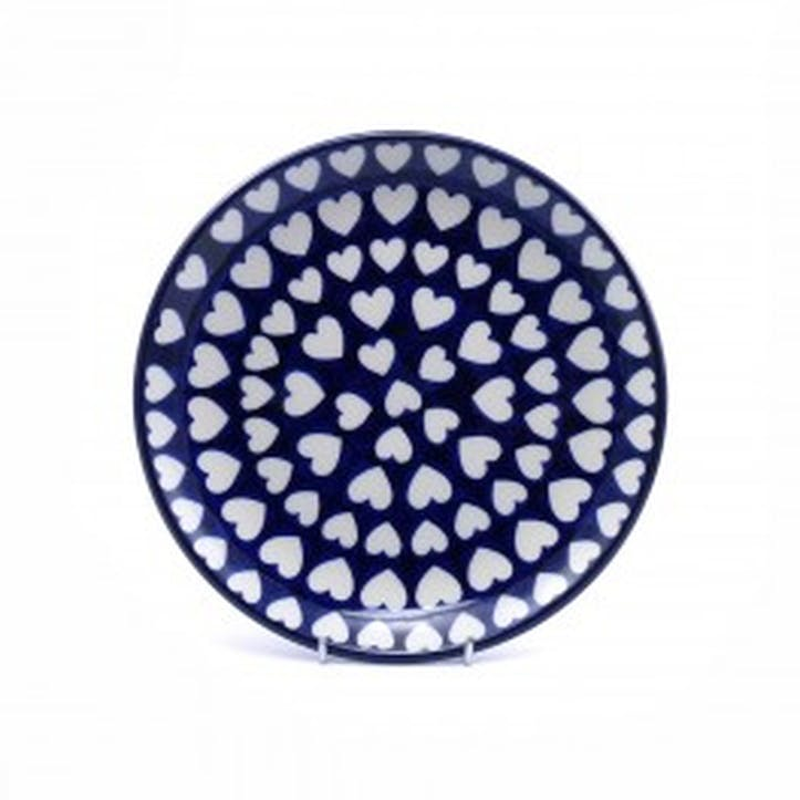 Hearts Breakfast Plate, 20cm