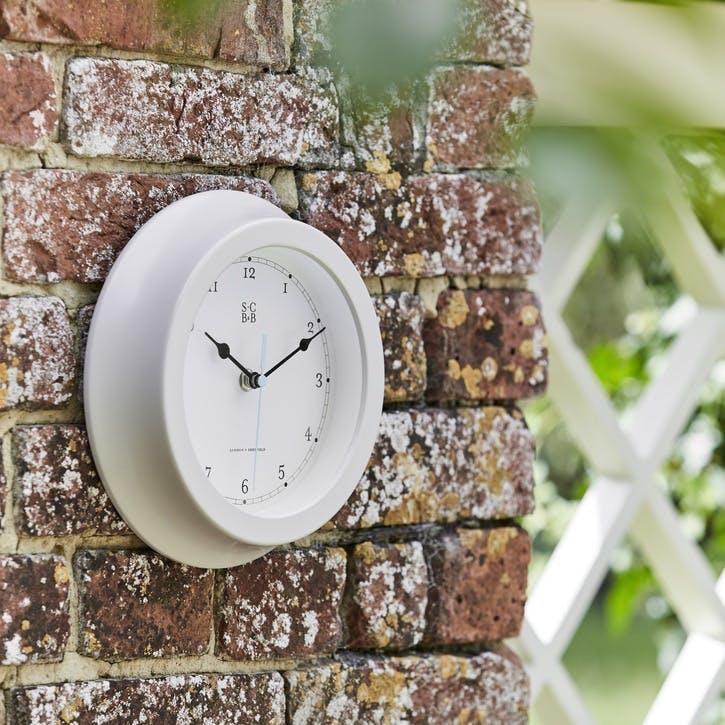 Garden Clock, Buttermilk