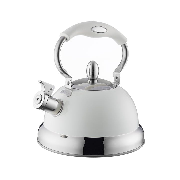 Living Stove Top Kettle, Cream