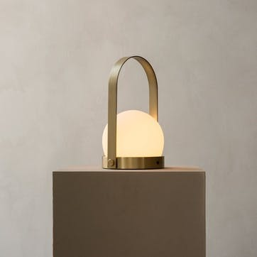 Carrie, Table Lamp, H25 x D14cm, Brass