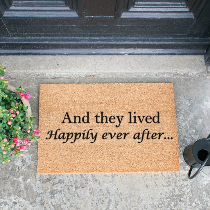 Happily Ever After Doormat