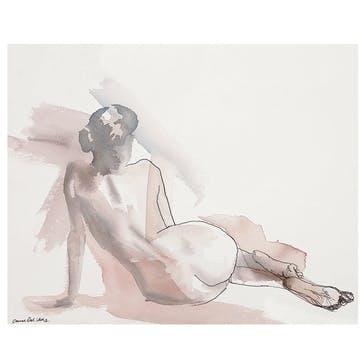 Aimee Del Valle Dimanche Canvas Print - 40 x 50cm