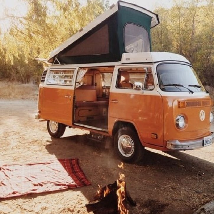 Honeymoon Break in a VW Camper Van