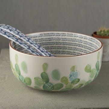 Drift Cactus Salad Bowl