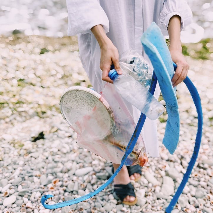 I promise to take part in a beach clean up