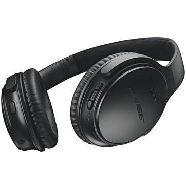 QuietComfort QC35 II Wireless Bluetooth Noise-Cancelling Headphones; Black