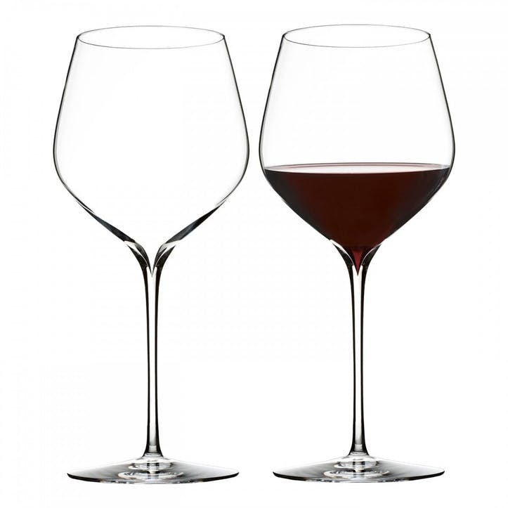 Elegance Crystal Cabernet Wine Glass, Set of 2