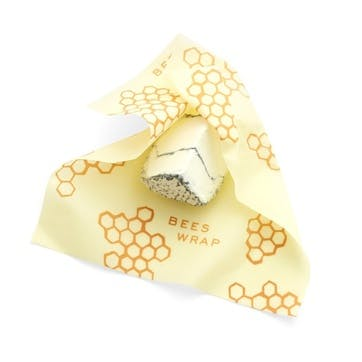Bee's Wrap Print Cheese Wraps, Pack Of 3, L25 x W28cm