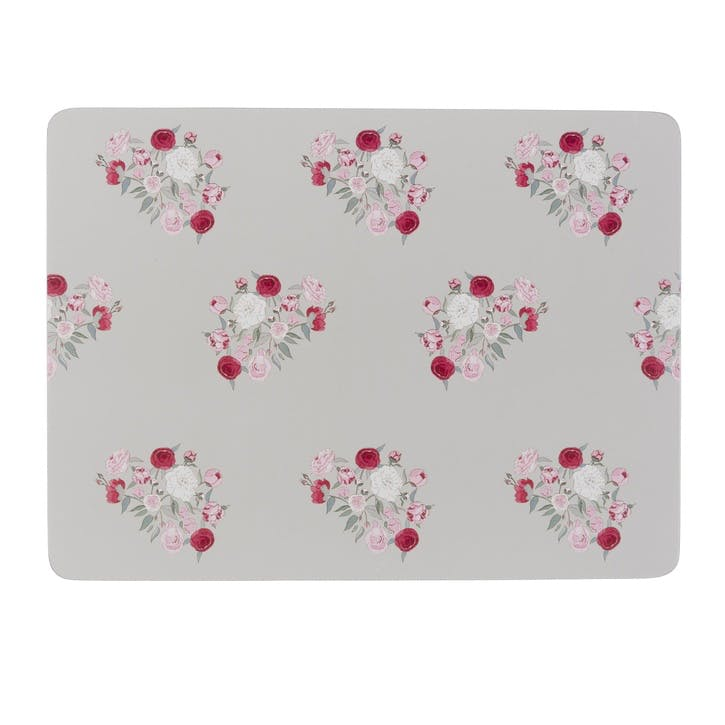 'Peony' Placemats , Set of 4