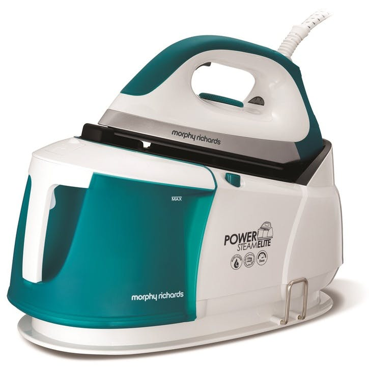 Power Steam Elite Steam Generator Iron; White
