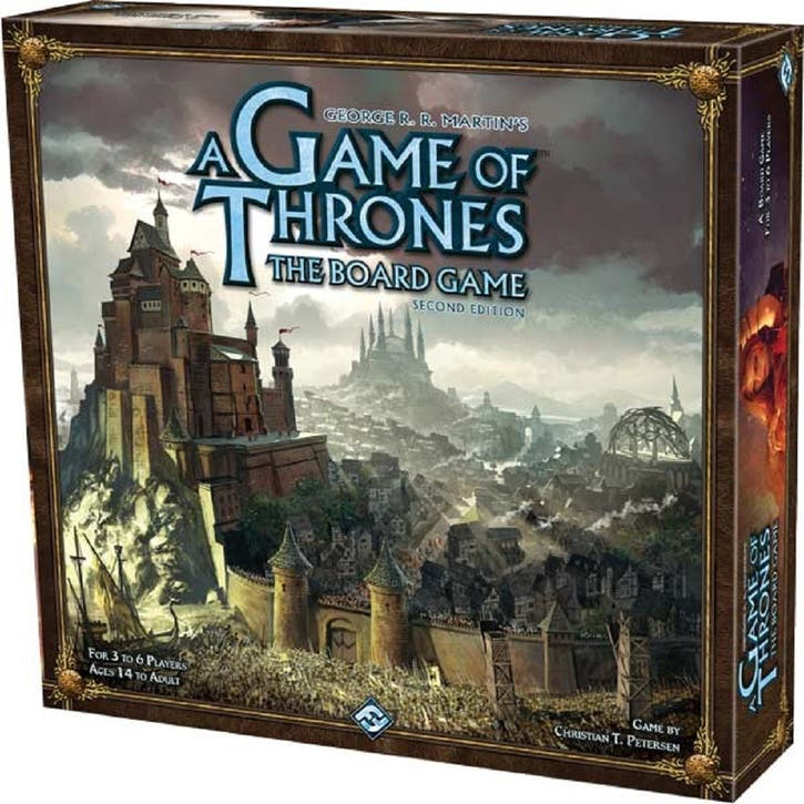 A Game Of Thrones Board Game, 2nd Edition
