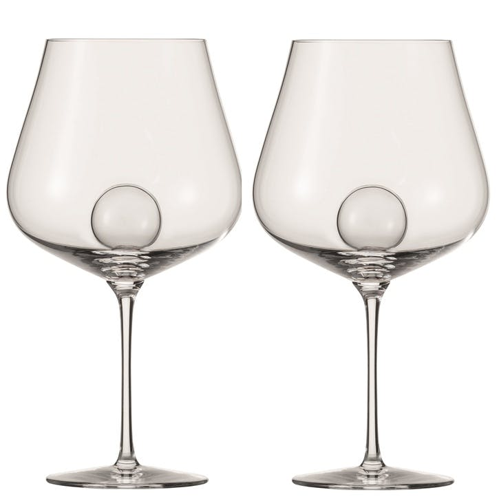 Air Sense Burgundy Wine Glass, Set of 2