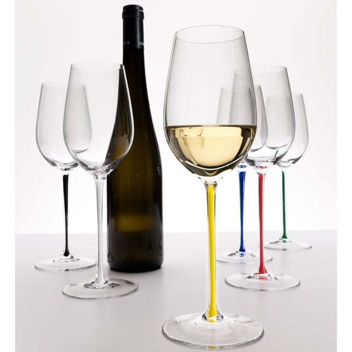 Fatto A Mano Riesling/Zinfandel, Set of 6