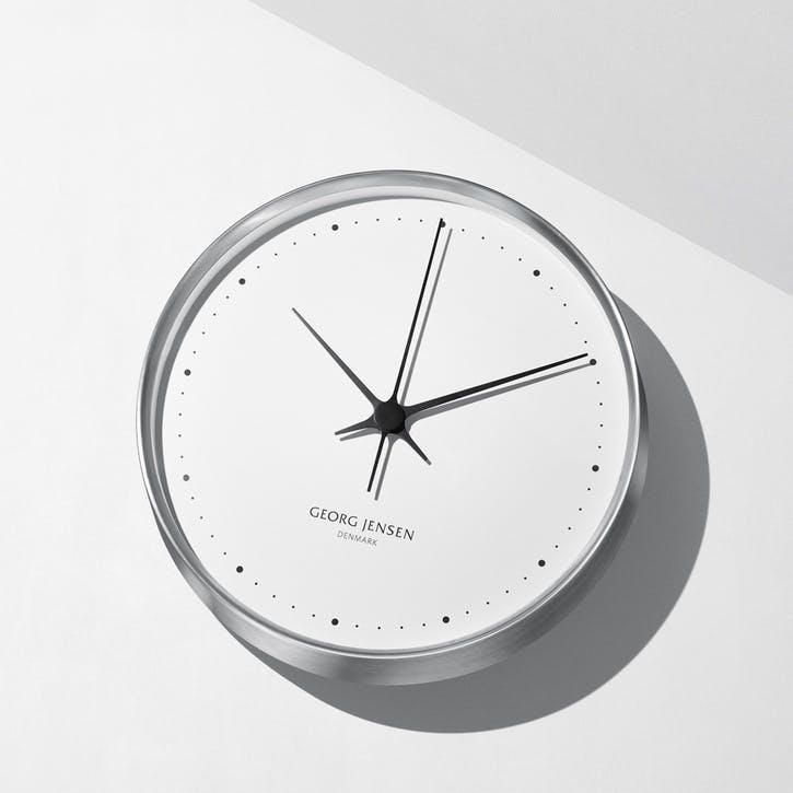 Koppel Wall Clock, Stainless Steel, 30cm