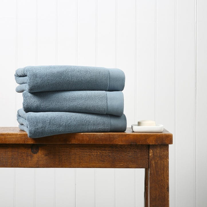 Luxe Bath Towel, Denim