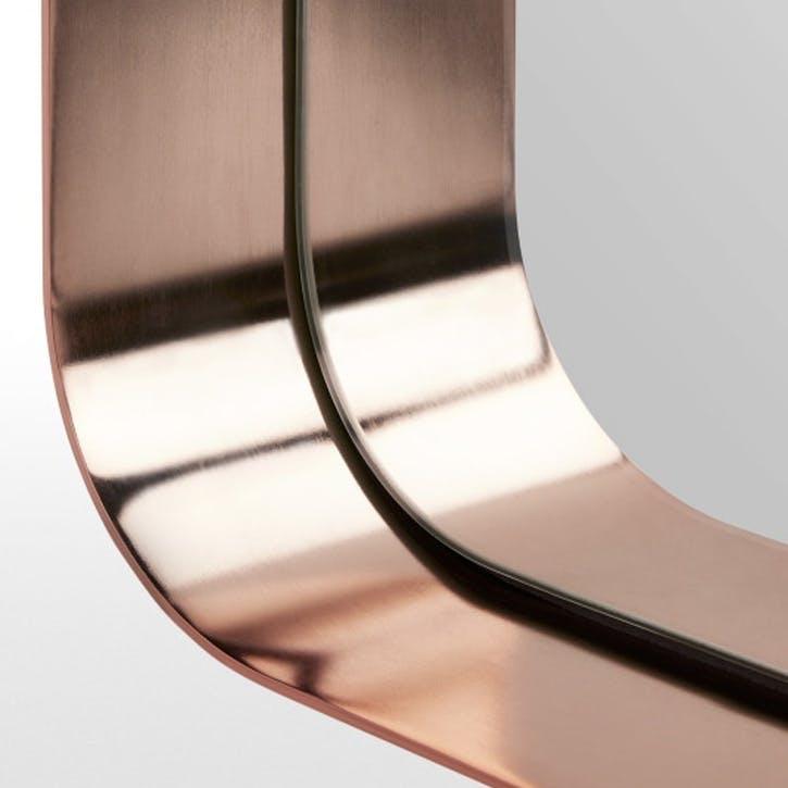 Alana Dress Mirror; 40 x 120 cm - Brushed Brass