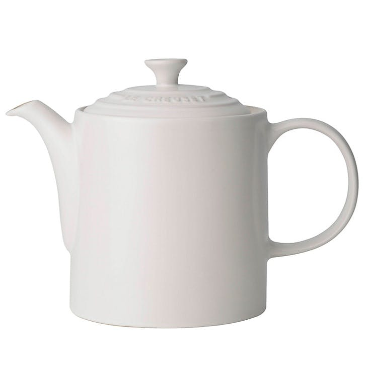 Stoneware Grand Teapot - 1.3L; Cotton