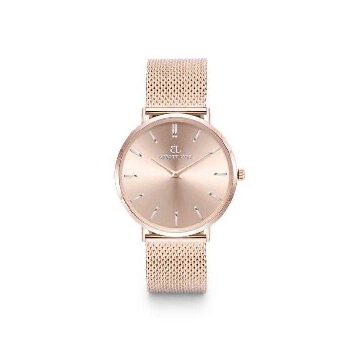 Stellar Chain 34 Watch, Blush