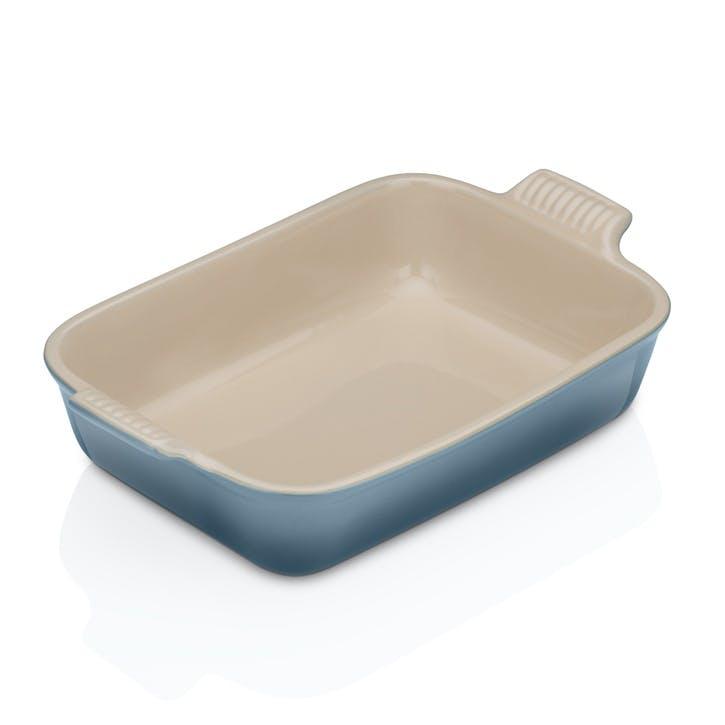 Stoneware Rectangular Dish - 26cm; Marine