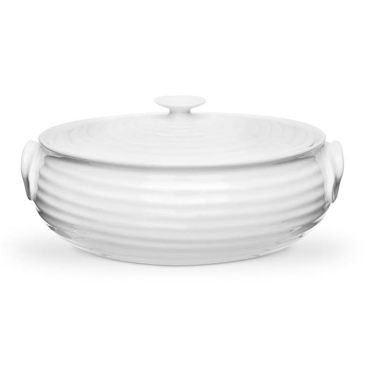 Oval Casserole Dish - Small; White