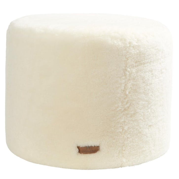 Frida Pouffe, White