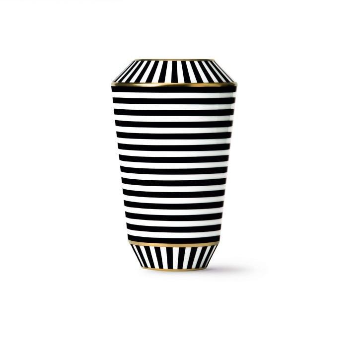 Ca' D'Oro Gold Rimmed Luna Vase