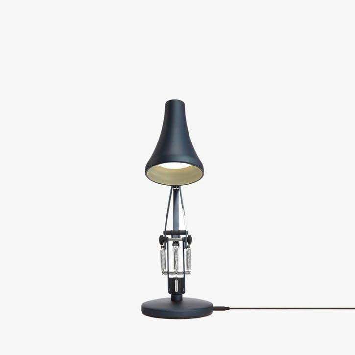 90 Mini Desk Lamp Steel Blue & Grey
