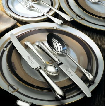 Old English Sovereign Silver Plated Cutlery Canteen Set - 84 Piece