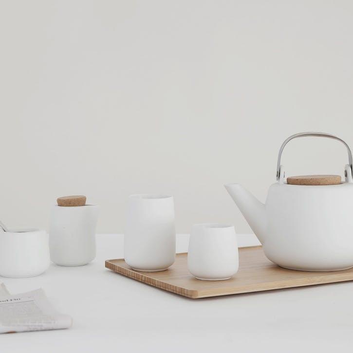 Nicola Teapot, White