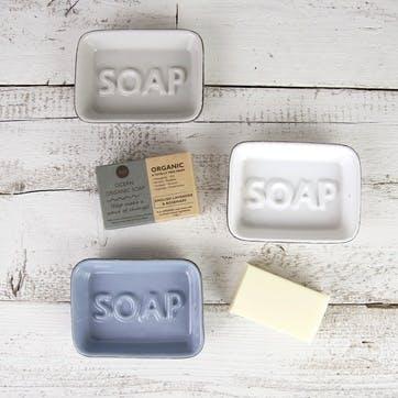 Ocean Soap Dish, White