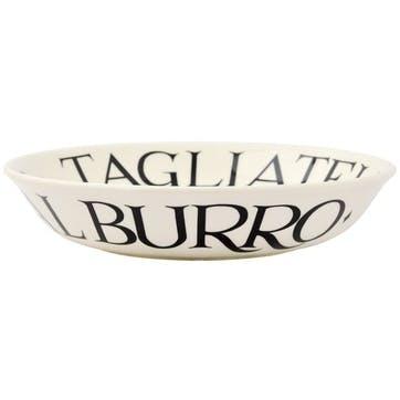 Black Toast Pasta Bowl, Small