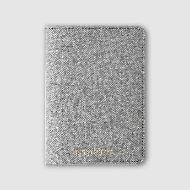Passport Holder, Dove Grey