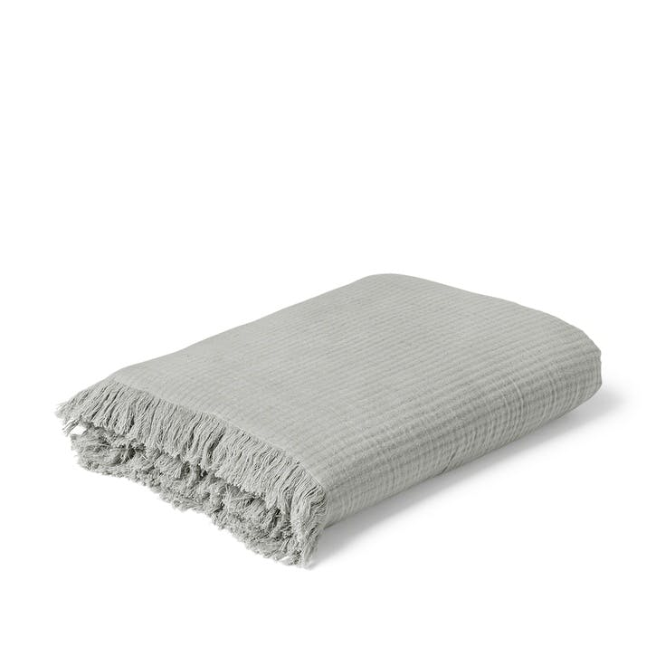View Bedspread, Grey