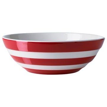 Serving Bowl, 31cm, Red