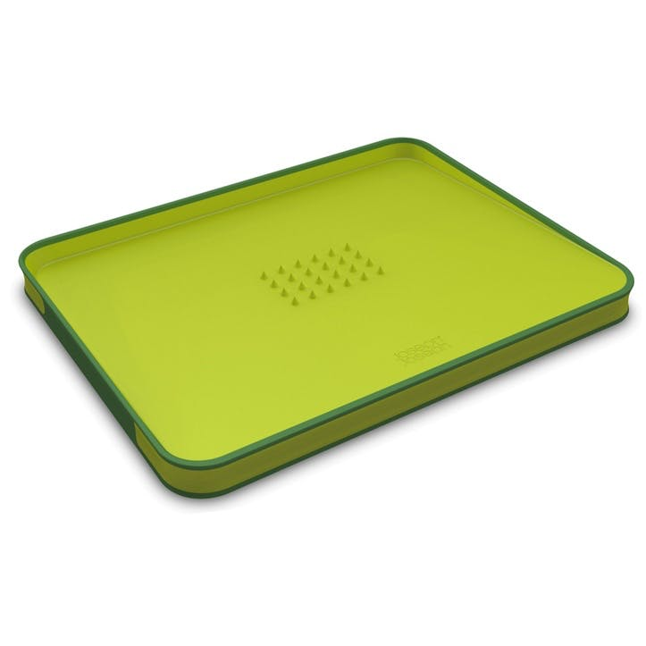 Cut&Carve Plus Chopping Board, Large, Green