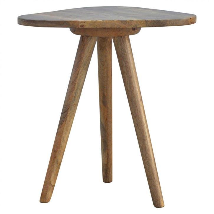 Lulu Triangle Tripod Table
