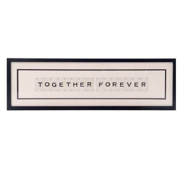 'Together Forever' Word Frame