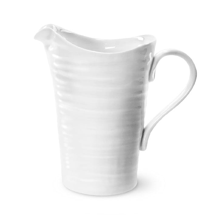Pitcher - Medium; White