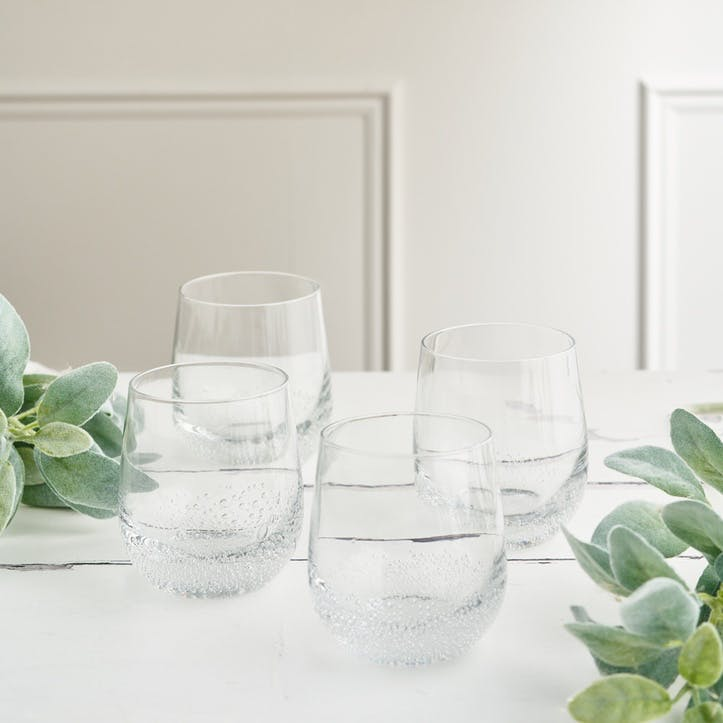 Jewel Bubble Tumbler, Set of 4
